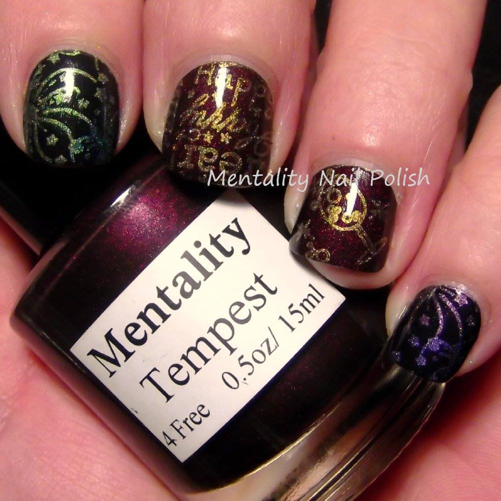 New Years Nail Polish: New Year's Mani Featuring Tempest